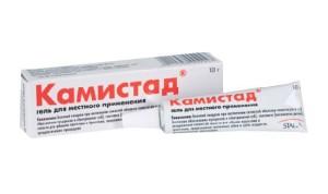 гель камистад против стоматита