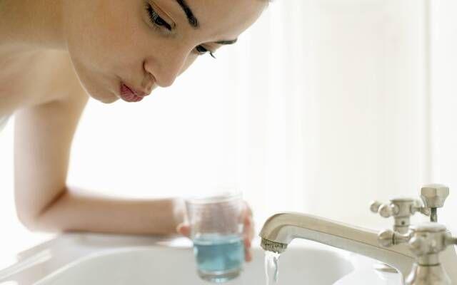 содовый раствор для полоскания рта
