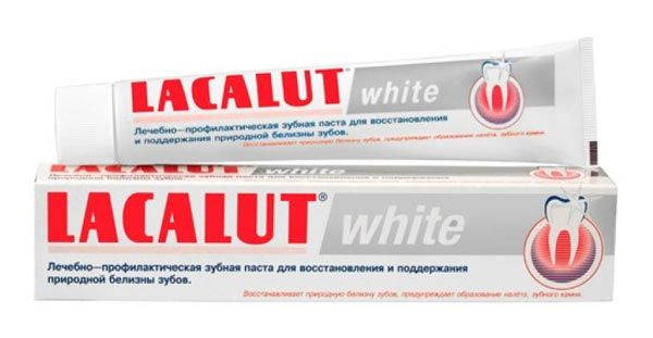 паста lacalut white
