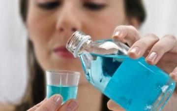 полоскание раствором хлоргексидина